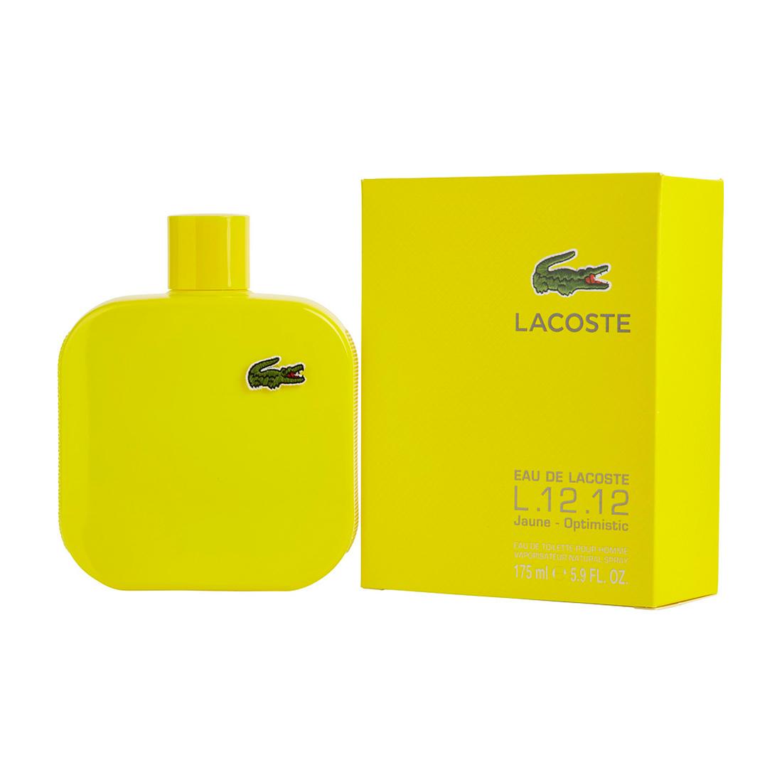 wiele stylów wielka wyprzedaż kolejna szansa Eau de Lacoste L.12.12 Yellow Jaune