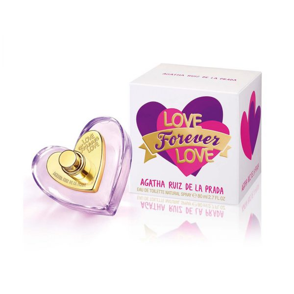 Love Forever Love | Agatha Ruiz de la Prada | EDT | 80ml | Spray