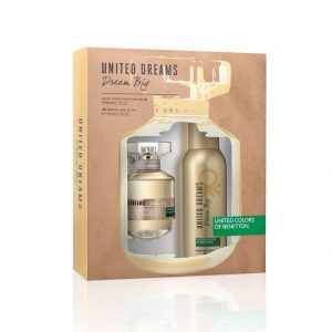 Estuche United Dreams Dream Big | Benetton | Eau de Toilette Spray 80ml | Desodorante Spray 150ml