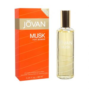 Musk for Women | Jovan | EDC | 96ml | Spray
