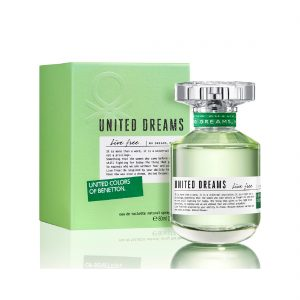 United Dreams Live Free | Benetton | EDT | 80ml | Spray
