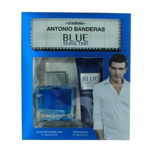 Estuche Blue Seduction For Men | Antonio Banderas | Eau de Toilette Spray 100ml | After Shave 75ml