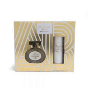 Estuche Her Golden Secret | Antonio Banderas | EDT Spray 80ml | Desodorante Spray 150ml
