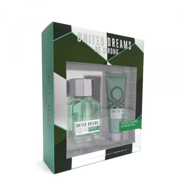 Estuche United Dreams Men Be Strong | Benetton | EDT Spray 100ml | After Shave 75ml