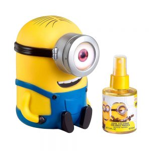 Estuche Minions | EDC | 100ml | Spray | Alcancía