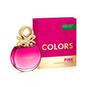 Colors Pink | Benetton | EDT | 80ML | Spray