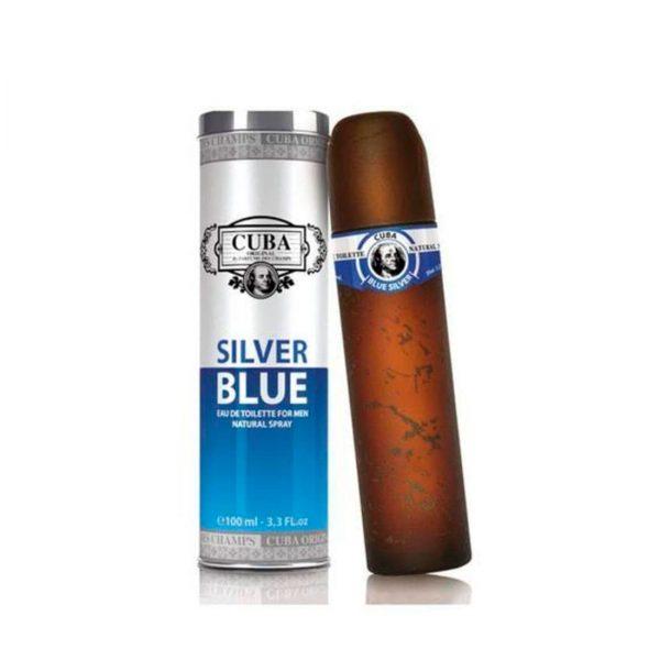 Cuba Silver Blue  Cuba Paris   EDT   100ml   Spray