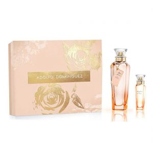 Estuche Agua Fresca de Rosas Blancas | Adolfo Dominguez | EDT Spray 120ml | EDT Spray 30ml