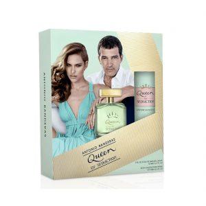 Estuche Queen of Seduction | Antonio Banderas | 2 piezas