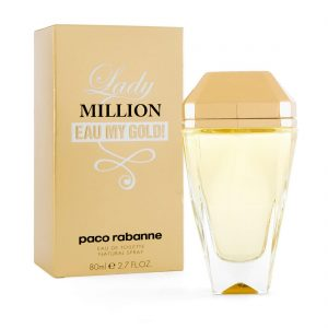 Lady Million Eau My Gold! | Paco Rabanne | 80ml | EDT | Spray