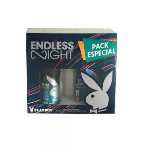 Estuche Endless Night   Playboy   2 piezas