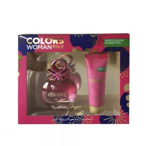 Estuche Colors Woman Pink I Benetton I 2 Piezas