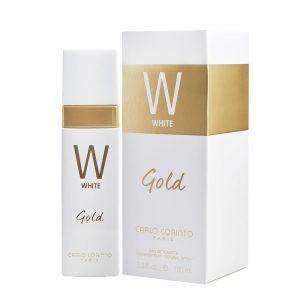 W. White Gold I Carlo Corinto I 100ml I EDT I Spray